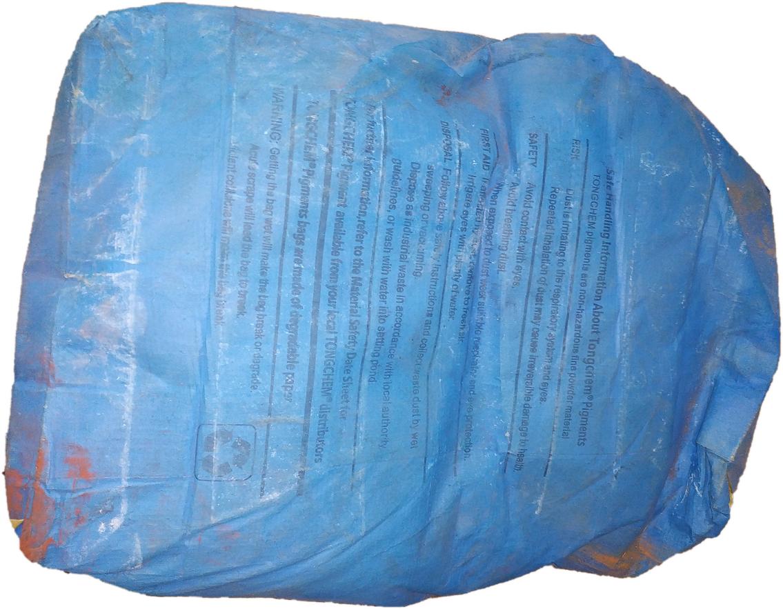 Синий пигмент для бетона -886 китай
