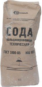 Сода кальцинированная в мешках Саратов