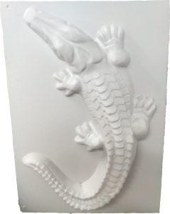 форма крокодила